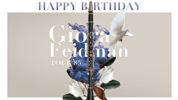 Picture of the eventHappy Birthday, Giora Feidman - TOUR 85