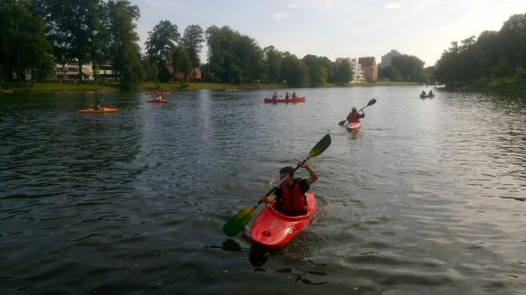 Bild der Veranstaltung Schnupperpaddeln auf der Donau im Kajak oder Kanadier für Einsteiger (Kinder, Erwachsene, Senioren) - (nähere Infos siehe Homepage)