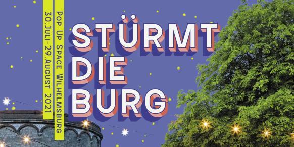 Link zu der Veranstaltung STÜRMT DIE BURG