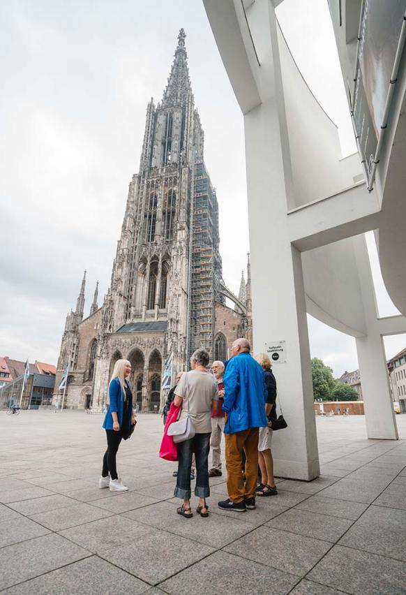 Picture of the eventCity tour and visit to Ulm Minster